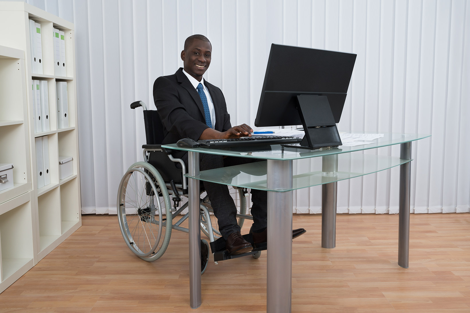 Business wheelchair